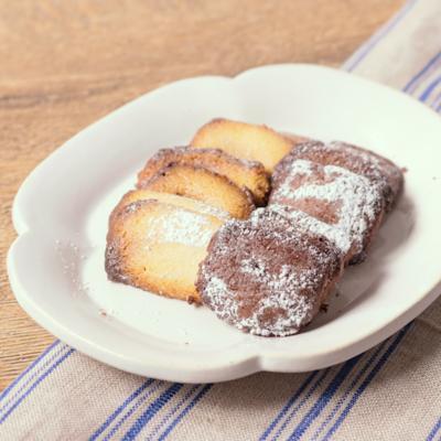 トースターで簡単 サクサク焼きチョコ