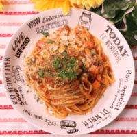 カレー香る!トマトのスパイシースパゲティ
