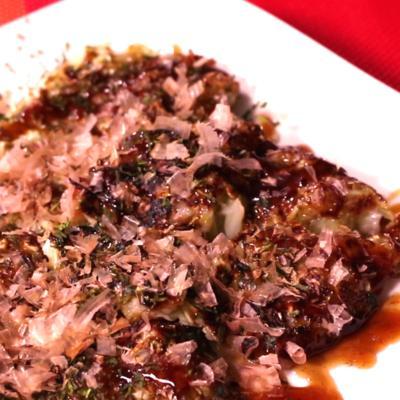 お好み焼き風長芋トロトロ焼き