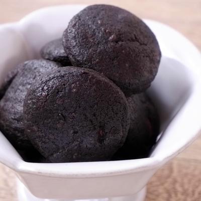 ブラックココアのサクサククッキー