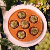 ミニトマトのバジルチーズオーブン焼き