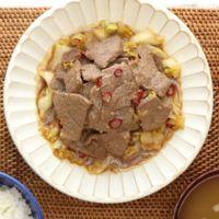 牛キャベツの甘辛ニンニク炒め煮