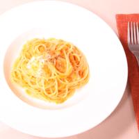野菜のコクたっぷり!モッツァレラトマトソースパスタ