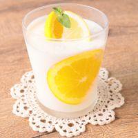 レモンとオレンジのヨーグルトムース