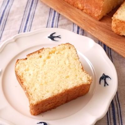 HMで簡単 生クリームパウンドケーキ