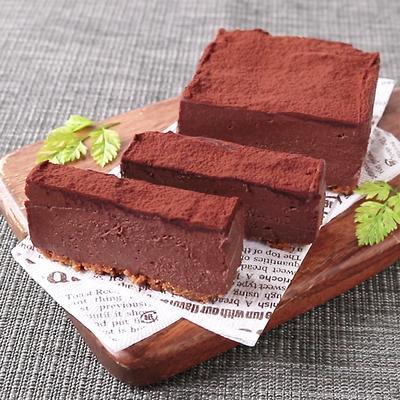水切りヨーグルトでチョコタルト