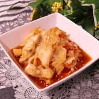 とろ〜りチーズの韓国風 鶏肉とキャベツの甘辛炒め