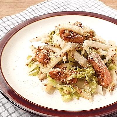ジューシーベーコンと白菜のサラダ
