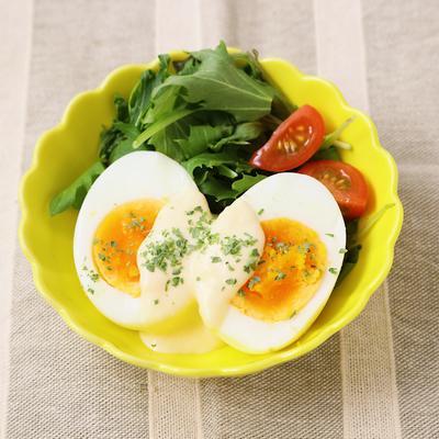 手作りシーザー風ゆで卵