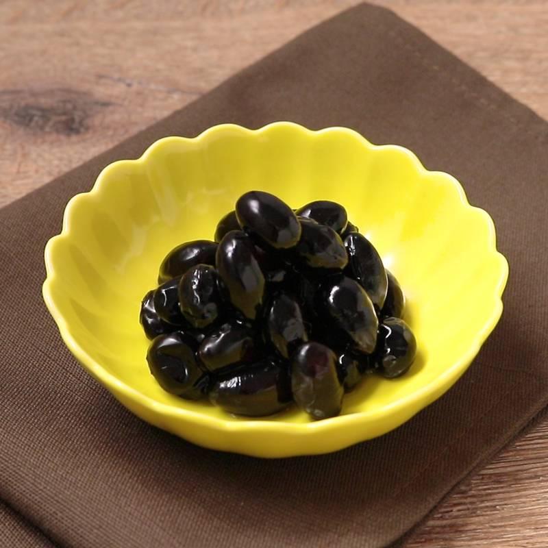 黒豆の煮方 しわ