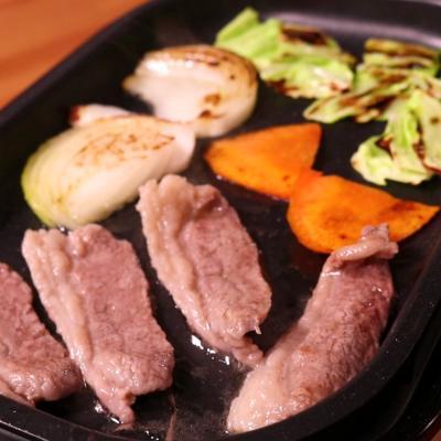 特製のタレで!ホットプレート焼肉
