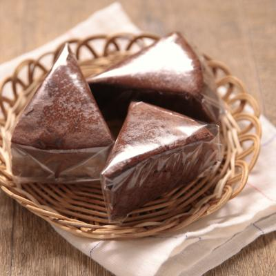 ガトーショコラのシンプルラッピング