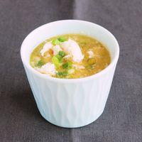 卵白とささみのふわふわスープ