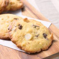 チョコとマカダミアナッツのアメリカンドロップクッキー