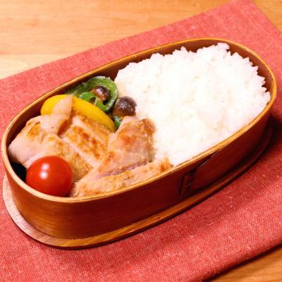 豚肉の味噌漬け焼き弁当