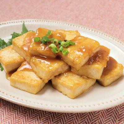 ガーリック香る 豆腐ステーキ