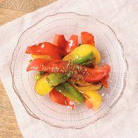 カラフルグリル野菜のハニーマスタードマリネ