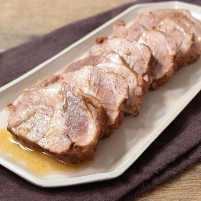 お酢でさっぱりトロトロ煮豚