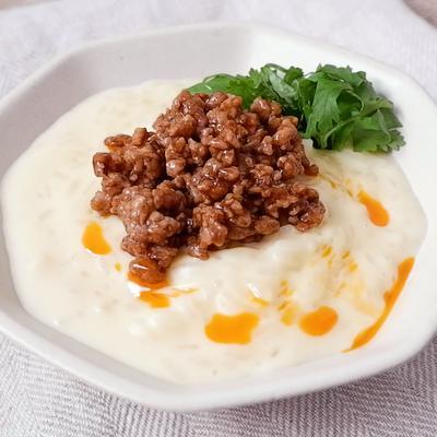 台湾風豆乳粥