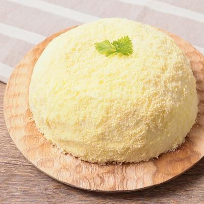 市販のスポンジケーキで簡単 ミモザケーキ