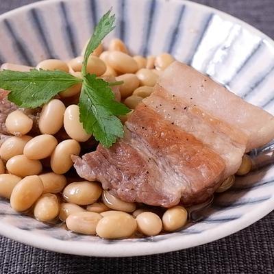 豚肉と大豆のさっぱり煮