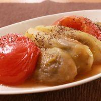 ナスとトマトのさっぱり煮