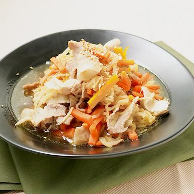 甘みと旨味たっぷり 切り干し大根と豚バラの炒め煮
