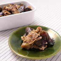 常備菜に 豚肉となすの甘酢中華炒め