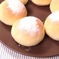 見た目も可愛く プチまんまるパン