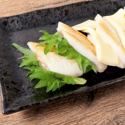 梅しそと海苔チーズの笹かまぼこサンド