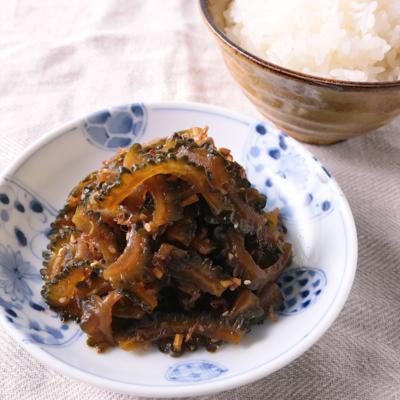 ゴーヤと生姜の佃煮