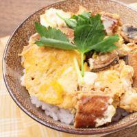 スタミナ満点 鰻の卵とじ丼