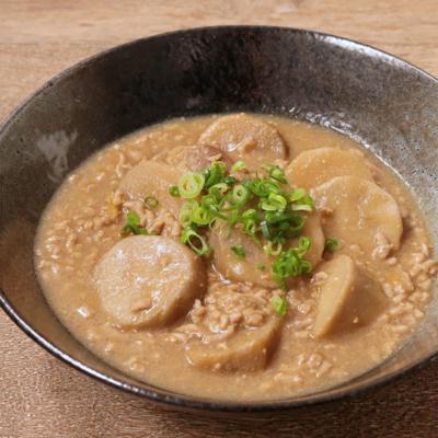 ゆず香る 京芋のそぼろ味噌煮