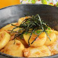 長芋の甘辛丼