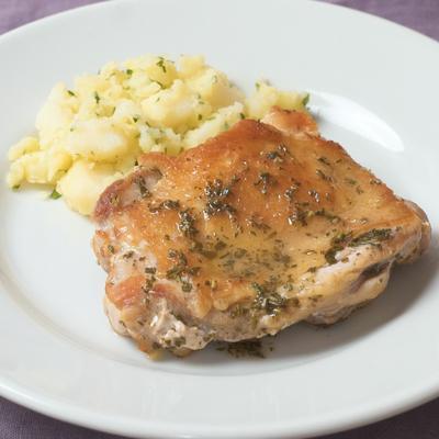 【日髙シェフ】鶏もも肉のソテー