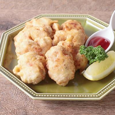 鶏むね肉で作るシンプル チキンナゲット