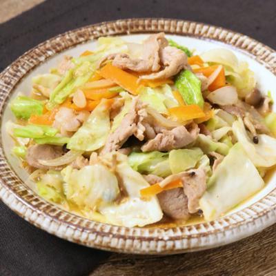 ごま味噌肉野菜炒め