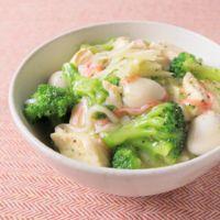 とろっとろ 豆腐とブロッコリーのあんかけ丼