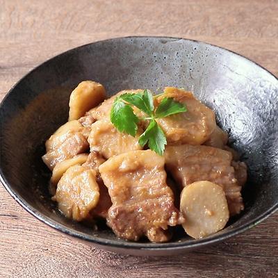 ごはんがすすむ 里芋と豚バラ肉のみそ煮