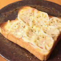 レンコンチーズトースト