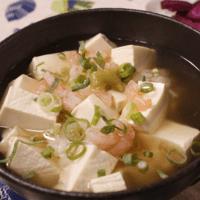 お夜食に!優しい味の豆腐どんぶり
