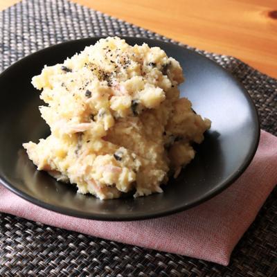 豆腐とオリーブのポテトサラダ