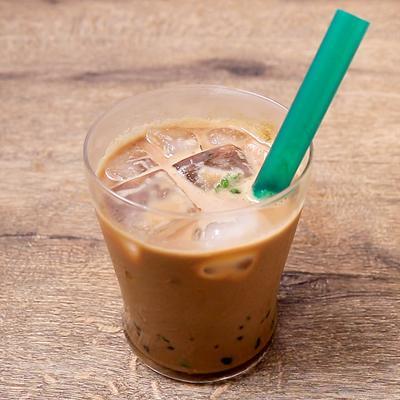 わたあめで タピオカコーヒーミルク
