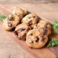 ホットケーキミックスで作る クランベリーチョコクッキー