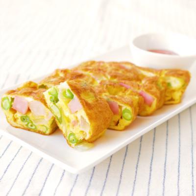 スパニッシュオムレツ風 卵焼き