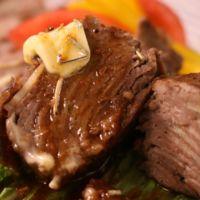 スタミナがっつり!にんにくと牛肉のミルフィーユ