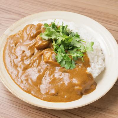 鶏むね肉とマッシュルームのココナッツカレー