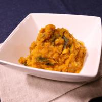 かぼちゃとツナの黒酢サラダ