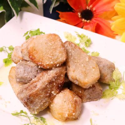 カリッとトローリ!里芋のハーブ焼き