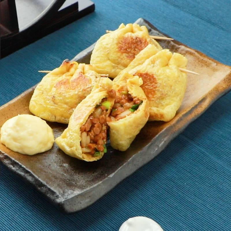 キムチーズ 納豆